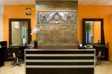 Фотография настенного барельефа Амфора