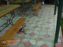Тротуарная плитка Фантазия - фотографии