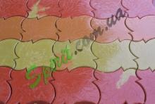 Глянцевая тротуарная плитка Кленовый лист