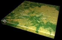 ФОТО: Тротуарная плитка Конопляный лист