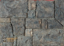 Искусственный камень Адриатика в темных тонах!