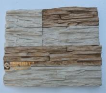 Искусственный декоративный камень из полиуретановых форм Горная Гряда