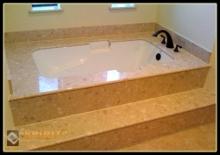 Благоустройство ванной комнаты используя технологию Полимербетон Спирит