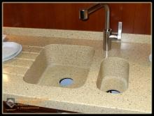 Кухонные мойки из Полимербетона Спирит. большое разнообразие форм для кухонных моек