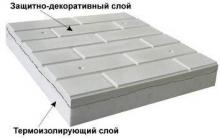 Фотографии готового полифасада и теплых плиток