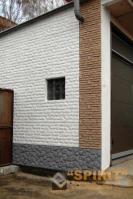 Готовые объекты утепленные и облицованные полифасадом теплыми плитками