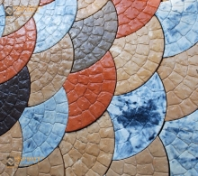 Тротуарная плитка ВЕЕР - 3 фактуры камня