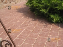 Тротуарная брусчатка МАНЕЖ 15х15см