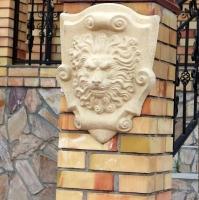 Фотография Декора ЛЕВ настенный фасадный